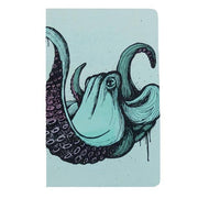 travel journal octopus printed cover