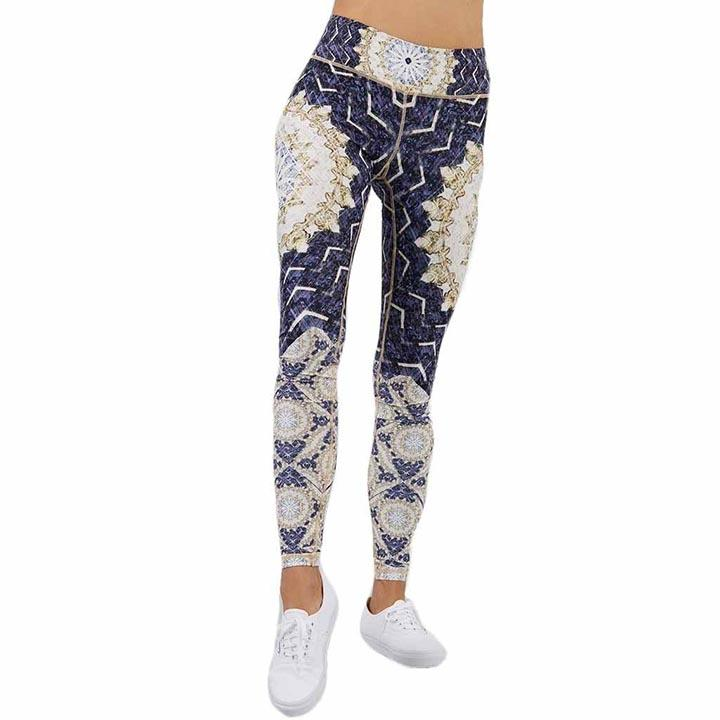 mandala festival leggings