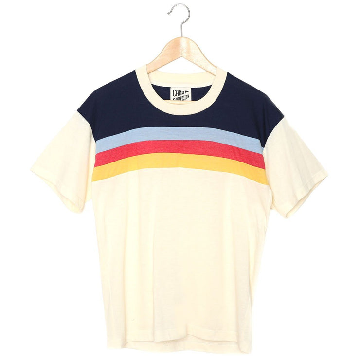 women's retro crewneck t-shirt