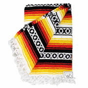 heavyweight Mexican blanket - Serape Falsa style
