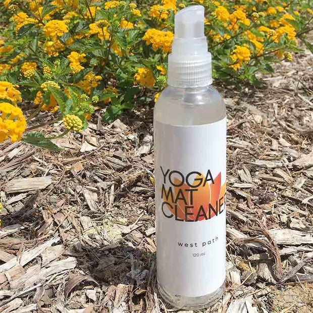 All Natural Yoga Mat Cleaner - Biodegradable Yoga Mats West Path