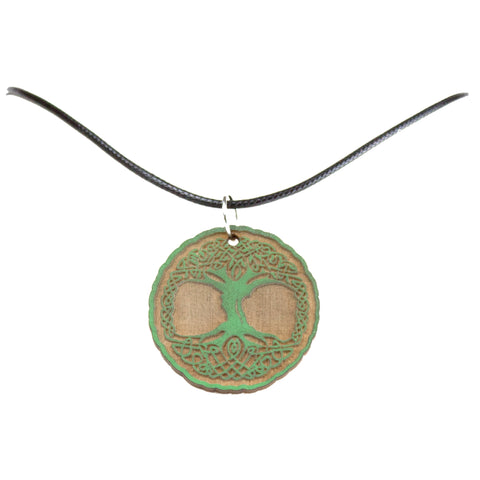 Tree of Life Wooden Necklace
