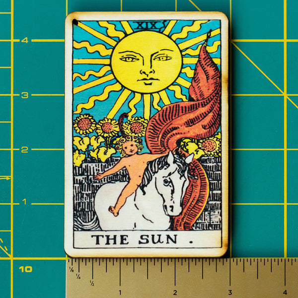 The Sun Tarot Incense Holder Tray