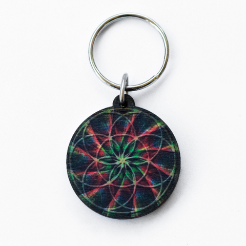 Seed of Life Full Color Keychain