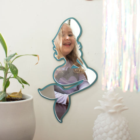 Mermaid Wall Art Mirror Wall Decor