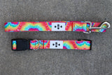 Tie Dye Collar + Leash (2 options)