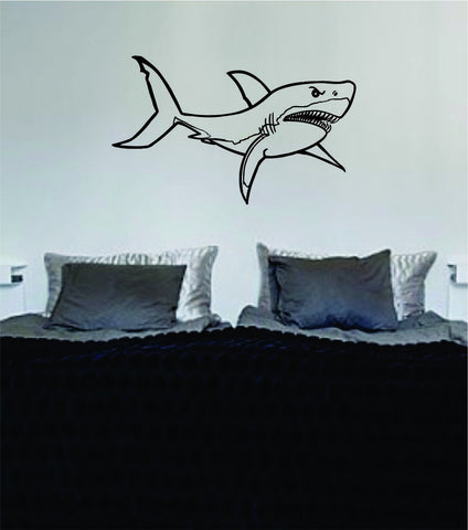 Shark Version 8 Design Animal Decal Sticker Wall Vinyl Decor Art