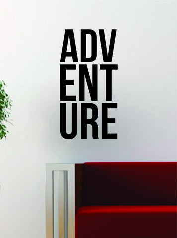 ADV ENT URE Adventure Quote Decal Sticker Wall Vinyl Art Decor Home Travel Wanderlust - boop decals - vinyl decal - vinyl sticker - decals - stickers - wall decal - vinyl stickers - vinyl decals