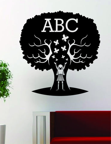 ABC Tree School Teacher Design Decal Sticker Wall Vinyl Decor - boop decals - vinyl decal - vinyl sticker - decals - stickers - wall decal - vinyl stickers - vinyl decals