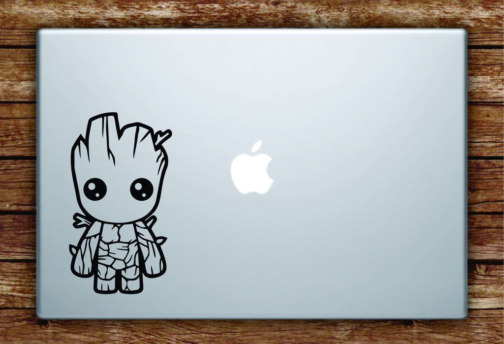 baby groot laptop apple macbook quote wall decal sticker art vinyl
