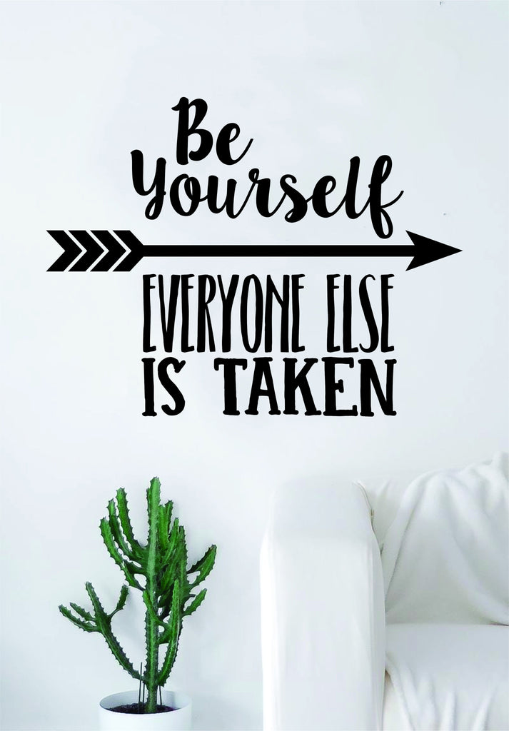 Be Yourself Quote Decal Sticker Wall Vinyl Art Decor Inspirational Cute Motivational Teen Kids Nursery  sc 1 st  Boop Decals - Shopify & Be Yourself Quote Decal Sticker Wall Vinyl Art Decor Inspirational ...