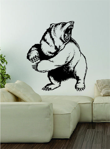 Bear v1 Wall Decal Sticker Vinyl Art Home Decor Decoration Wild Animal Grizzly