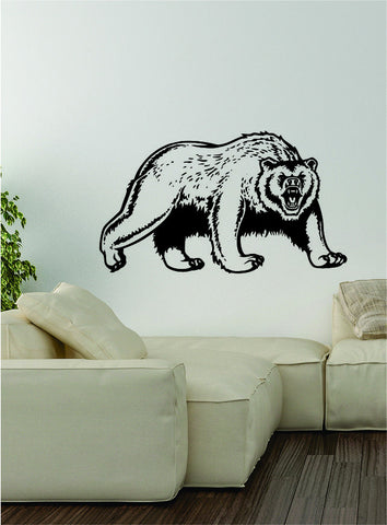 Bear v2 Wall Decal Sticker Vinyl Art Home Decor Decoration Wild Animal Grizzly