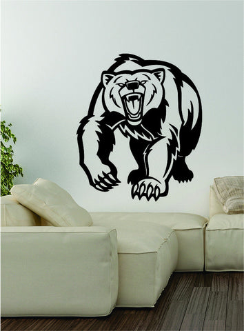 Bear v4 Wall Decal Sticker Vinyl Art Home Decor Decoration Wild Animal Grizzly