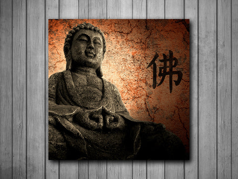 Buddha Art Background Photo Panel - Durable Finish - High Definition - High Gloss