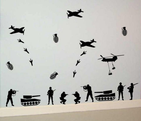 Army War Package Design Decal Sticker Wall Vinyl Decor Art - boop decals - vinyl decal - vinyl sticker - decals - stickers - wall decal - vinyl stickers - vinyl decals