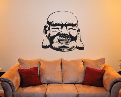 Buddha Head Buddhist Design Decal Sticker Wall Vinyl Decor Art - boop decals - vinyl decal - vinyl sticker - decals - stickers - wall decal - vinyl stickers - vinyl decals