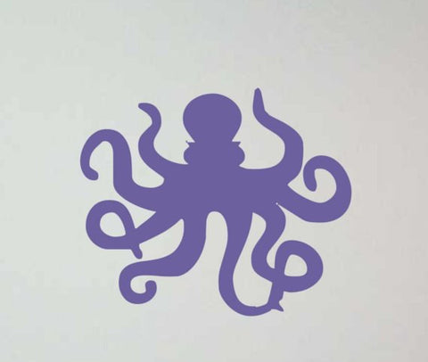 Octopus Version 1 Design Animal Decal Sticker Wall Vinyl Decor Art