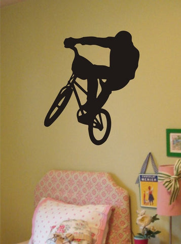 BMX Biker Version 1 Design Sports Decal Sticker Wall Vinyl - boop decals - vinyl decal - vinyl sticker - decals - stickers - wall decal - vinyl stickers - vinyl decals