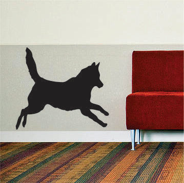 Dog Silhouette Version 3 Design Animal Decal Sticker Wall Vinyl Decor Art - boop decals - vinyl decal - vinyl sticker - decals - stickers - wall decal - vinyl stickers - vinyl decals