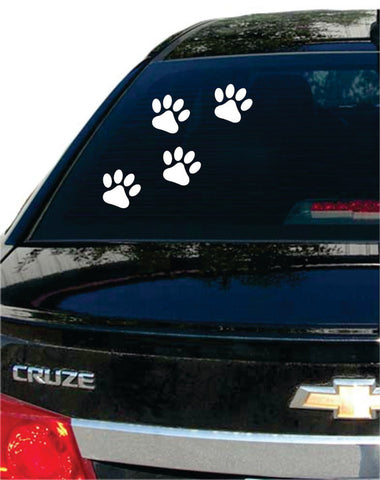 Paw Prints Dog Puppy Car Window Design Decal Sticker Wall Vinyl Art - boop decals - vinyl decal - vinyl sticker - decals - stickers - wall decal - vinyl stickers - vinyl decals