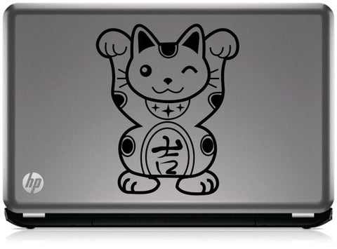 Chinese Lucky Cat Laptop Decal Sticker Wall Vinyl Art Design - boop decals - vinyl decal - vinyl sticker - decals - stickers - wall decal - vinyl stickers - vinyl decals