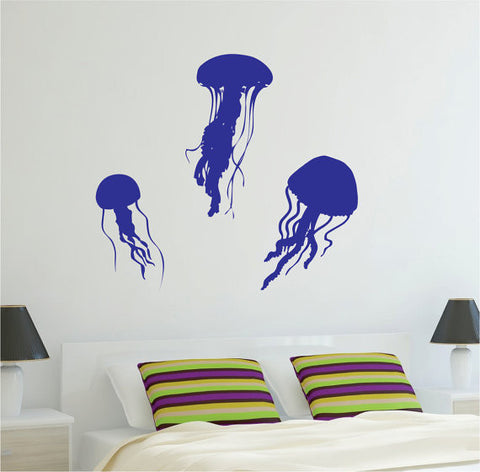 3 Jellyfish Design Animal Decal Sticker Wall Vinyl Decor Art - boop decals - vinyl decal - vinyl sticker - decals - stickers - wall decal - vinyl stickers - vinyl decals