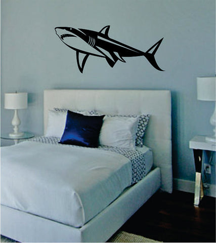 Shark Version 2 Design Animal Decal Sticker Wall Vinyl Decor Art - boop decals - vinyl decal - vinyl sticker - decals - stickers - wall decal - vinyl stickers - vinyl decals