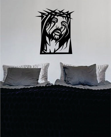 Jesus Christ Design Religious Decal Sticker Wall Vinyl Art Home Room Decor - boop decals - vinyl decal - vinyl sticker - decals - stickers - wall decal - vinyl stickers - vinyl decals