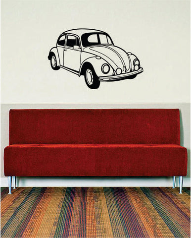 VW Bug Volkswagen Beetle Car Design Decal Sticker Wall Vinyl Decor Art - boop decals - vinyl decal - vinyl sticker - decals - stickers - wall decal - vinyl stickers - vinyl decals