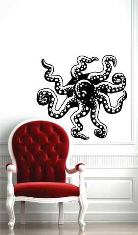Octopus Coming out of Wall Design Animal Decal Sticker Wall Vinyl Decor Art - boop decals - vinyl decal - vinyl sticker - decals - stickers - wall decal - vinyl stickers - vinyl decals