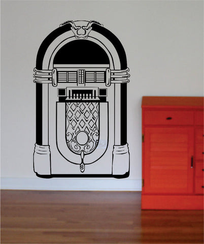 Old School Jukebox Music Decal Sticker Wall Vinyl - boop decals - vinyl decal - vinyl sticker - decals - stickers - wall decal - vinyl stickers - vinyl decals