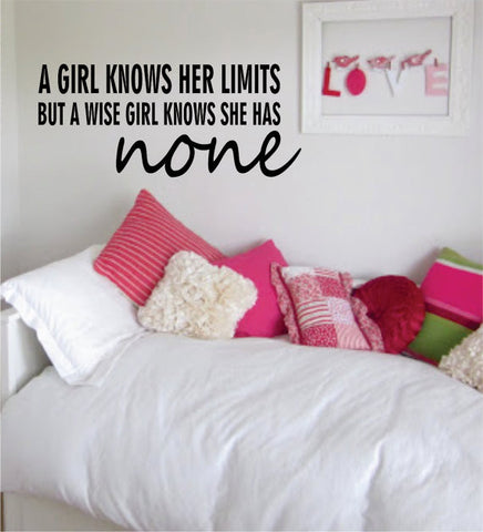 Marilyn Monroe Limits Quote Decal Sticker Wall Vinyl Decor Art - boop decals - vinyl decal - vinyl sticker - decals - stickers - wall decal - vinyl stickers - vinyl decals