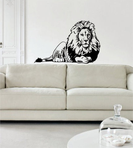 Lion Version 5 Design Animal Decal Sticker Wall Vinyl Decor Art - boop decals - vinyl decal - vinyl sticker - decals - stickers - wall decal - vinyl stickers - vinyl decals