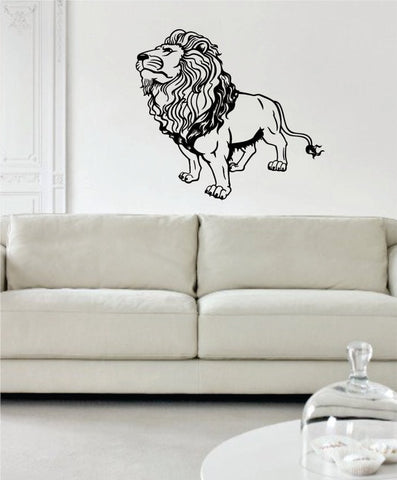 Lion Version 8 Design Animal Decal Sticker Wall Vinyl Decor Art - boop decals - vinyl decal - vinyl sticker - decals - stickers - wall decal - vinyl stickers - vinyl decals