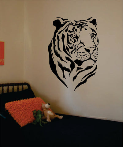 Tiger Face Version 3 Design Animal Decal Sticker Wall Vinyl Decor Art - boop decals - vinyl decal - vinyl sticker - decals - stickers - wall decal - vinyl stickers - vinyl decals