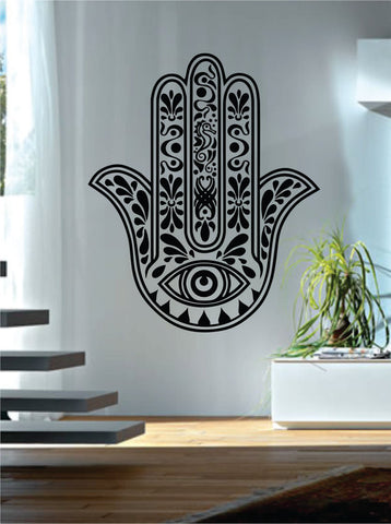 Hamsa Hand Version 10 Design Decal Sticker Wall Vinyl Decor Art - boop decals - vinyl decal - vinyl sticker - decals - stickers - wall decal - vinyl stickers - vinyl decals