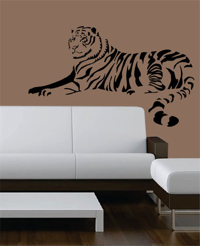 Tiger Version 6 Design Animal Decal Sticker Wall Vinyl Decor Art - boop decals - vinyl decal - vinyl sticker - decals - stickers - wall decal - vinyl stickers - vinyl decals