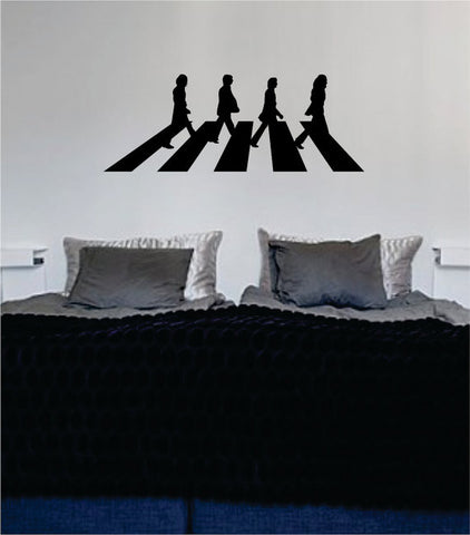 Abbey Road The Beatles Decal Sticker Wall Vinyl - boop decals - vinyl decal - vinyl sticker - decals - stickers - wall decal - vinyl stickers - vinyl decals
