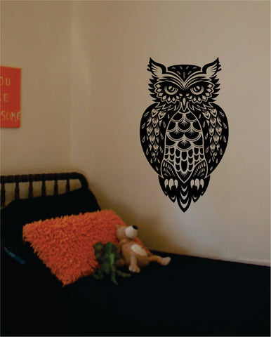 Owl Version 4 Bird Design Animal Decal Sticker Wall Vinyl Decor Art - boop decals - vinyl decal - vinyl sticker - decals - stickers - wall decal - vinyl stickers - vinyl decals