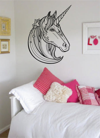 Unicorn Version 2 Design Animal Decal Sticker Wall Vinyl Decor Art - boop decals - vinyl decal - vinyl sticker - decals - stickers - wall decal - vinyl stickers - vinyl decals