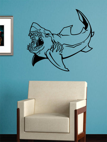 Shark Version 5 Design Animal Decal Sticker Wall Vinyl Decor Art - boop decals - vinyl decal - vinyl sticker - decals - stickers - wall decal - vinyl stickers - vinyl decals