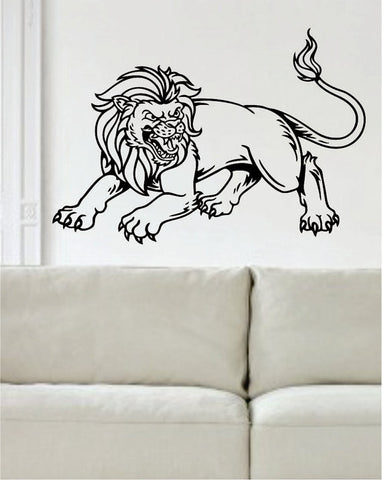 Lion Version 12 Design Animal Decal Sticker Wall Vinyl Decor Art - boop decals - vinyl decal - vinyl sticker - decals - stickers - wall decal - vinyl stickers - vinyl decals