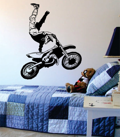Dirtbiker Version 5 Moto X Design Sports Decal Sticker Wall Vinyl - boop decals - vinyl decal - vinyl sticker - decals - stickers - wall decal - vinyl stickers - vinyl decals