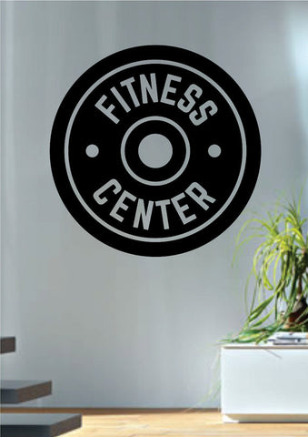 Fitness Center Gym Design Decal Sticker Wall Vinyl Art Home Room Decor - boop decals - vinyl decal - vinyl sticker - decals - stickers - wall decal - vinyl stickers - vinyl decals