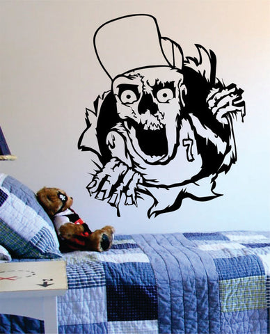 Zombie Ripping Through the Wall Version 2 Design Decal Sticker Wall Vinyl Art Home Room Decor - boop decals - vinyl decal - vinyl sticker - decals - stickers - wall decal - vinyl stickers - vinyl decals