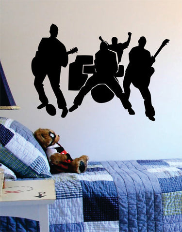 Band Rocking Out Music Art Decal Sticker Wall Vinyl - boop decals - vinyl decal - vinyl sticker - decals - stickers - wall decal - vinyl stickers - vinyl decals