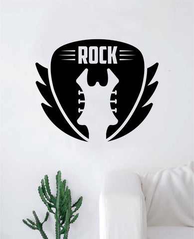 Guitar V3 Wall Decal Sticker Bedroom Room Art Vinyl Home Decor Music Teen Kids Electric Acoustic Rock