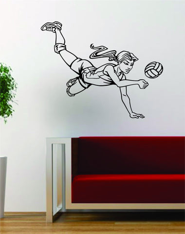 Volleyball Player Version 1 Sports Design Decal Sticker Wall Vinyl Art Decor Home - boop decals - vinyl decal - vinyl sticker - decals - stickers - wall decal - vinyl stickers - vinyl decals