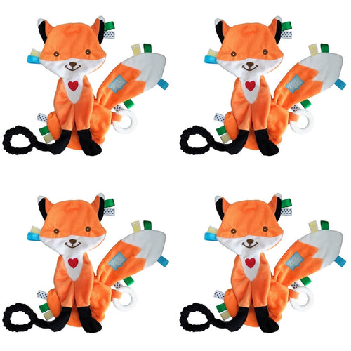Felix the Fox Taggie Baby Comforter - PACK OF 4